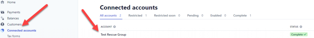 BSD Split Pay for Stripe Connect On Woo Stripe View Connected Account